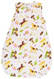 Baby Sleeping Bag with Horse Pattern, 2.5 Tog's Winter Model (Medium (10 - 24 mos))