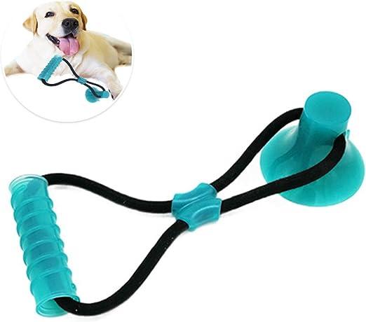 Juguete para perros con ventosa, pelota para perros Pet Molar ...