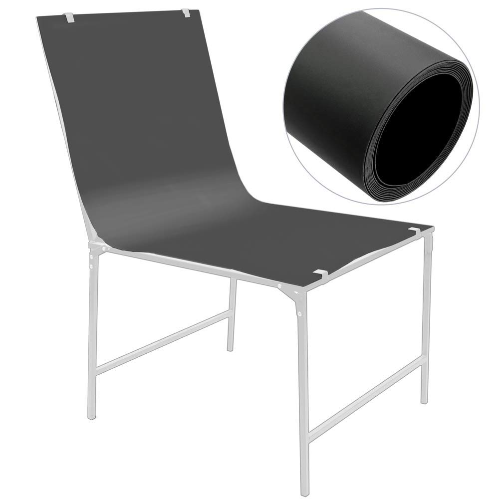 Chroma Key Tabletop Still Life 68x130 cm PVC Black
