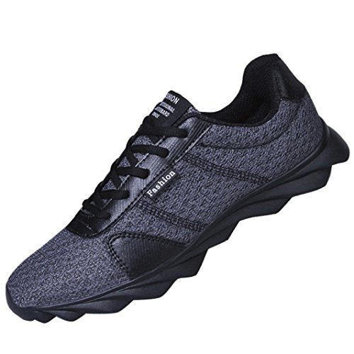 beautyjourney Scarpe Running estive Uomo Scarpe Uomo Sneakers Scarpe da Ginnastica Uomo Scarpe da Corsa Uomo Sportive Scarpe da Lavoro Uomo - Uomo Sneakers Scarpe da Corsa Grigio