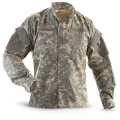 Military Outdoor Clothing Previously Issued ACU Jacket, Medium/Long, ()