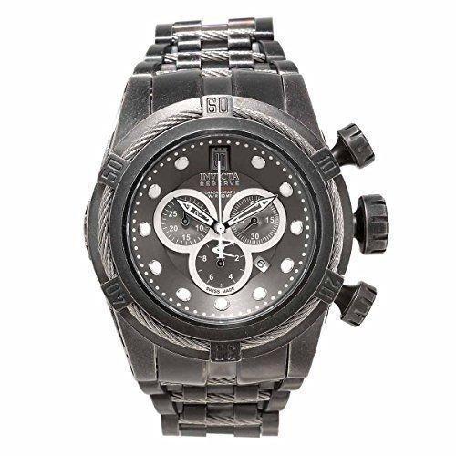 (Invicta Men's 17832 Jason Taylor Quartz Chronograph Gunmetal Dial Watch.)