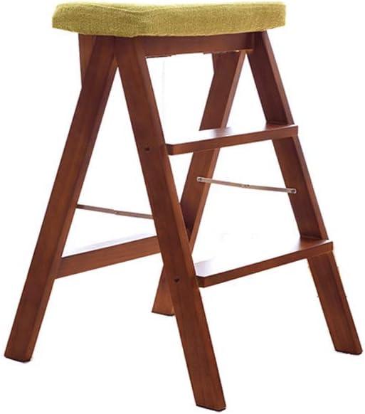 Love lamp Silla De Camping Plegable Taburetes Plegables De Madera para El Hogar Escaleras Multifuncionales para Sillas De Doble Uso Mueble para Exteriores: Amazon.es: Hogar