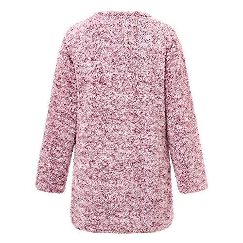 Solide Hiver À Blouse Casual Shobdw Mode Hoodie Veste Violet Pullover Longues Sweatshirt Capuche Manteau Tops Blouson Femme Manches Chaud qwEY8wC