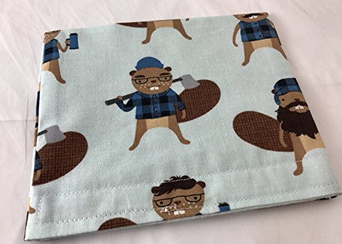 Reusable Snack Bag Eco-Friendly - Busy Beavers Blue (Bag Beaver Lunch)