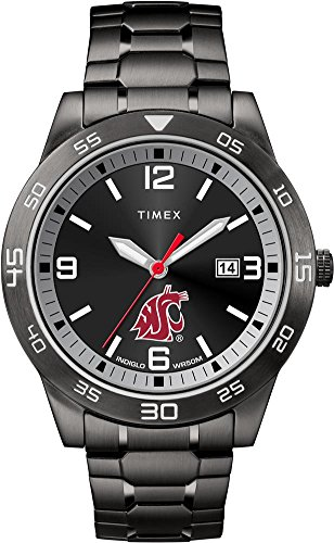 Timex Washington State University Men's Black Acclaim Watch