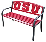 Leigh Country Ohio State University Metal Bench