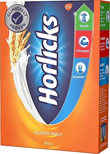 Horlicks Health & Nutrition drink - 500 g Refill p