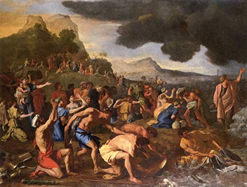 Nicolas Poussin The Crossing of The Red Sea 1634 National Gallery of Victoria - Melbourne 30