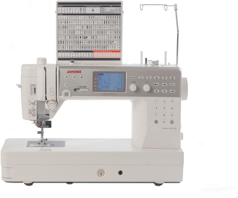 Janome Memory Craft 6700P - Máquina de coser: Amazon.es: Hogar