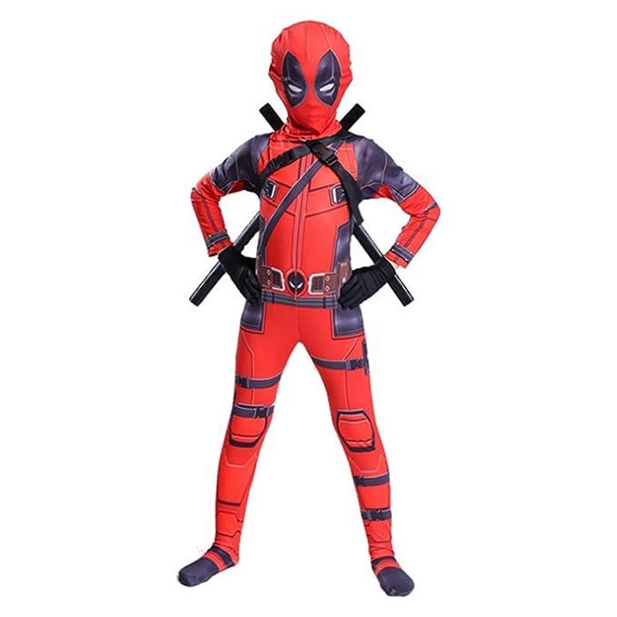 Hope Traje de Cosplay de Deadpool Niños Adultos Mono Medias ...