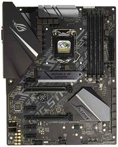 ASUS ROG Strix B360-F Gaming LGA1151 (Intel 8th Gen) DDR4 DP HDMI DVI M.2 B360 ATX Motherboard