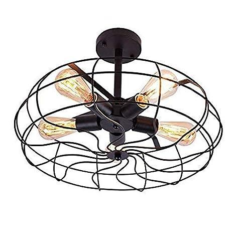 Vintage de Techo oyi Industrial Colgante lámpara Retro Luz ...