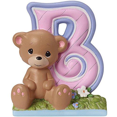 Precious Moments,  B Is For Bear Alphabet Resin Figurine, 153416