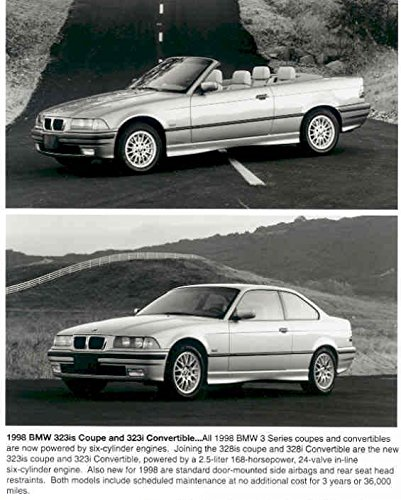 1998 BMW 323is and 323i Convertible Photo