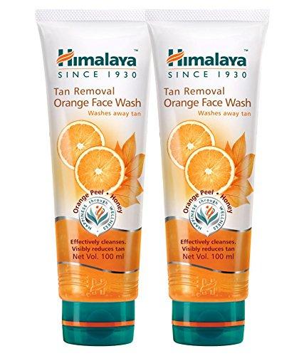 Himalaya Tan Removal Orange Face Wash – Pack Of 2