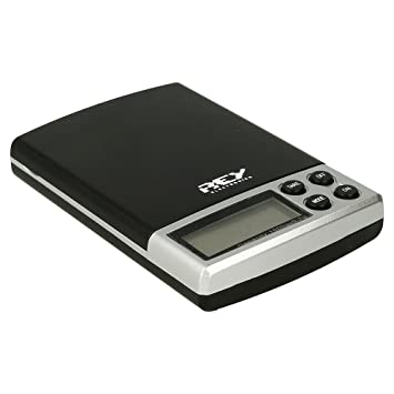 Báscula Digital de Precisión, Rango de Pesaje de 0,1g a 1000g, Balanza Portátil, Peso Joyero, Electrónica Rey®: Amazon.es: Electrónica
