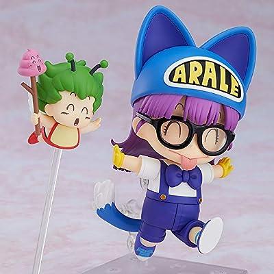 Good Smile Dr. Slump Arale Chan: Arale Norimaki (Cat Ears Version Gatchan) Nendoroid Action Figure: Toys & Games