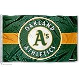 MLB Oakland A's WCR09896051 Team Flag, 3' x 5'