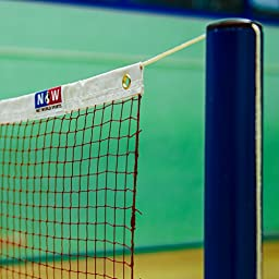 BWF Regulation 20\' Badminton Net - For Competition and Leisurely Badminton [Net World Sports]