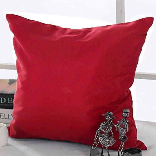 Deconovo Cushion Covers Home Decorative Hand Made Pillowcase