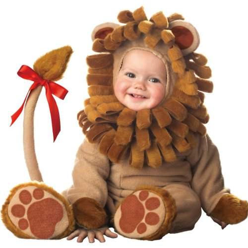 InCharacter Costumes Baby's Lil' Lion Costume, Brown, Medium (12-18 -