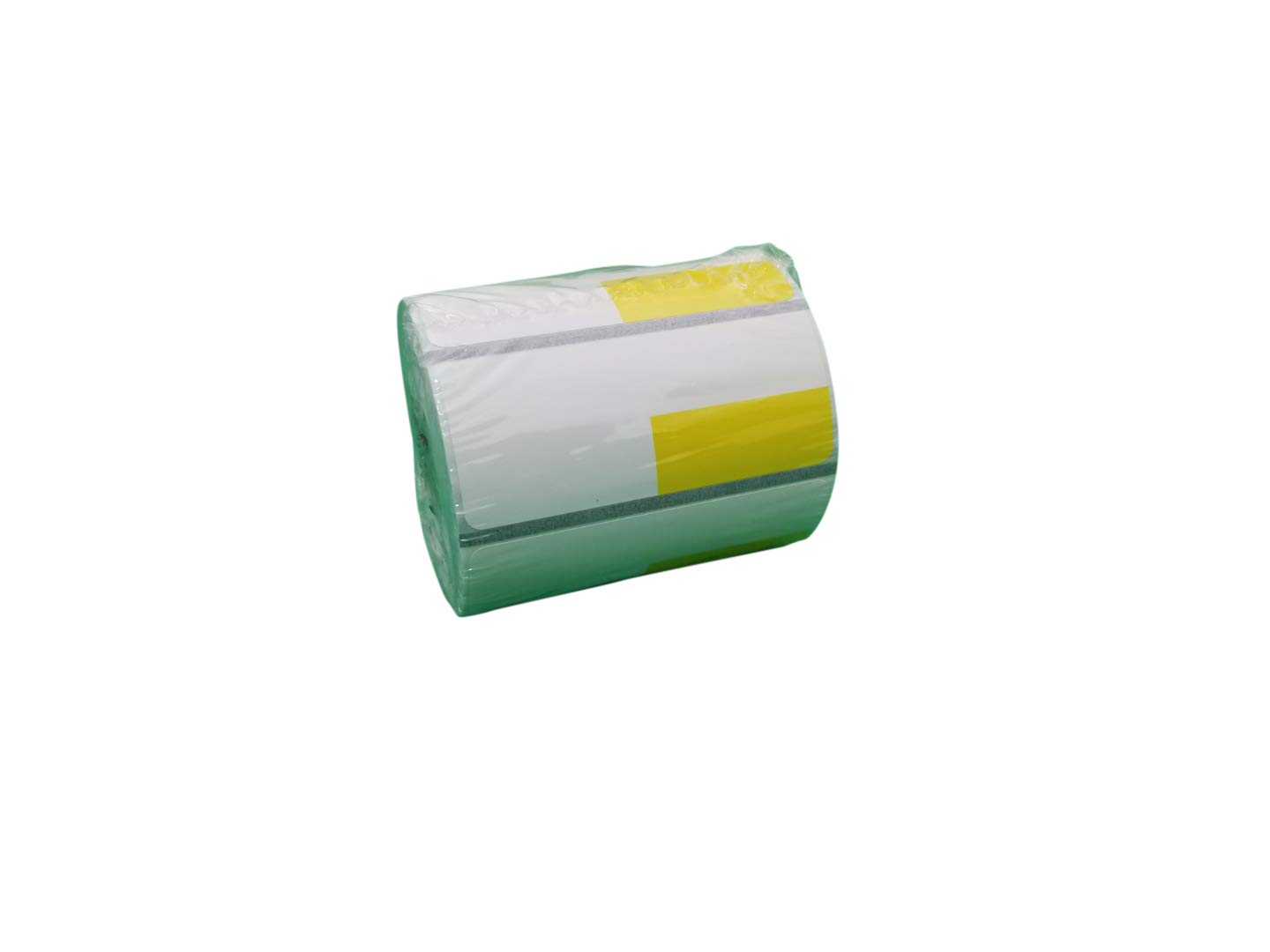 Zebra 2 5/8 x 1 1/8(2.25 x 1.25) inch Direct Thermal Polypropylene Labels 4000D, Yellow(Left Top) Price tag, Direct Thermal Label, 500 Per Roll, 24 Rolls/Box by VisionTechShop (Image #1)