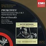 Prokofiev: Violin Concertos Nos. 1 & 2 / Violin Sonata No. 2 ~ Oistrakh
