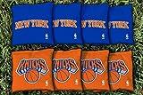 NBA Replacement All Weather Cornhole Bag Set NBA Team: New York Nyk Knicks