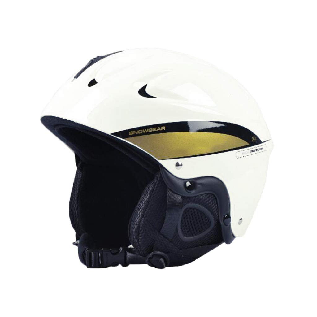 ヘルメット スキー&スノーボード用ヘルメット、スキー用プロテクティブセーフティキャップスケートボードスケート用ヘルメット大人用、子供用、子供用ヘッドバンド B07PYNT31J 白 Medium Medium|白