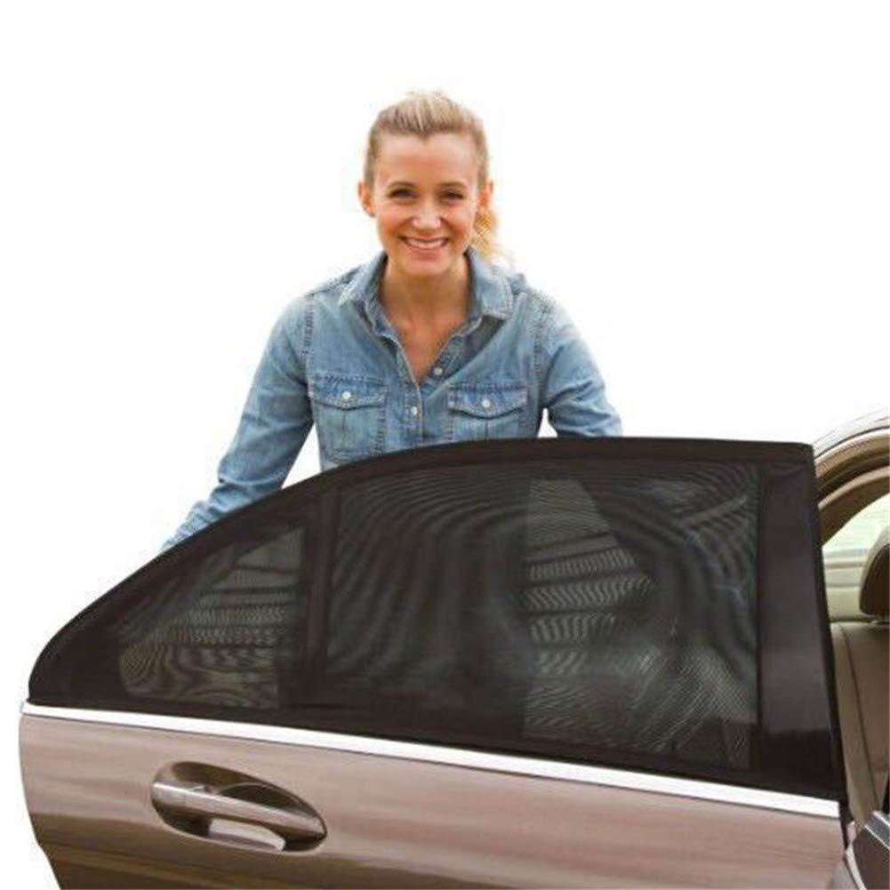 Klinkamz Sonnenschutz fü r Das Auto, fü r Vorder- und Seitenfenster, UV-Schutz, 1 Paar