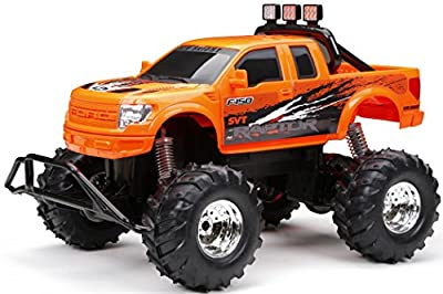 """New Bright R/C F/F Raptor with """"AA"""" Batteries (1:10 Scale)"""