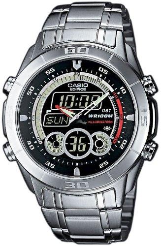 CASIO Edifice EFA-115D-1A1VEF - Reloj de Caballero de Cuarzo, Correa de