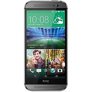 HTC One M8 3G, 4MP, 32GB, QHTC One M8 Unlocked International Version - 32GB - grey