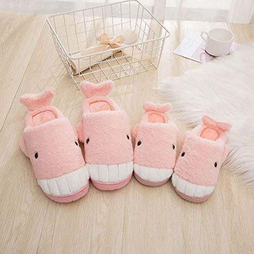 Memory Trick Halloween Slippers or Pink Fleece 42 Treat Foam Women House Cozy IFwOq