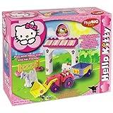 Big 800057019 - Juego de construccin, granja de Hello Kitty