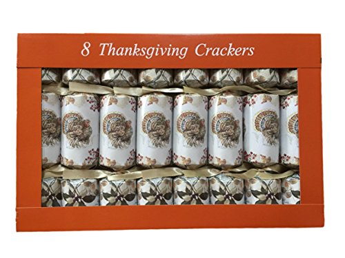 Thanksgiving Turkey's Holiday Party Crackers, Set of (Halloween Party Crackers)