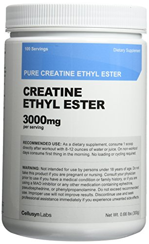 Creatine Ethyl Ester (CEE) Pure Creatine Ethyl Ester Rapid Absorption Creatine 3000mg Per Serving
