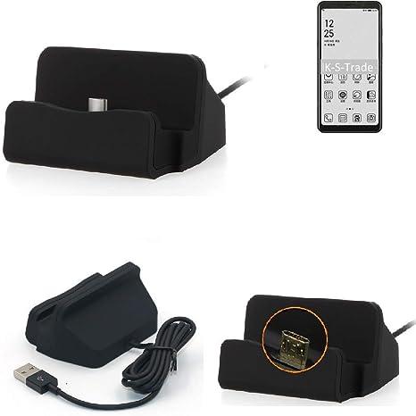K-S-Trade® Base De Carga para HiSense A5 Micro USB Cargador ...