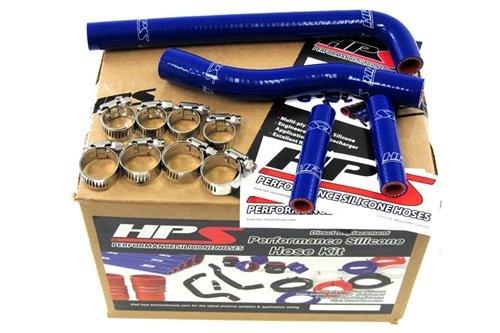 01-05 Yamaha YZ250F HPS Blue Silicone Radiator Hose Kit Coolant YZ 250F 02 03 04