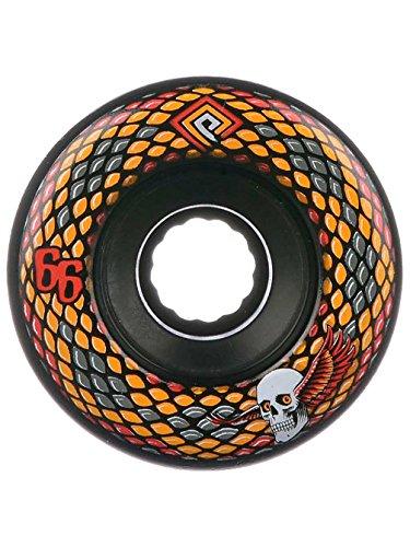(Powell Snakes Wheels Set Black Yellow)