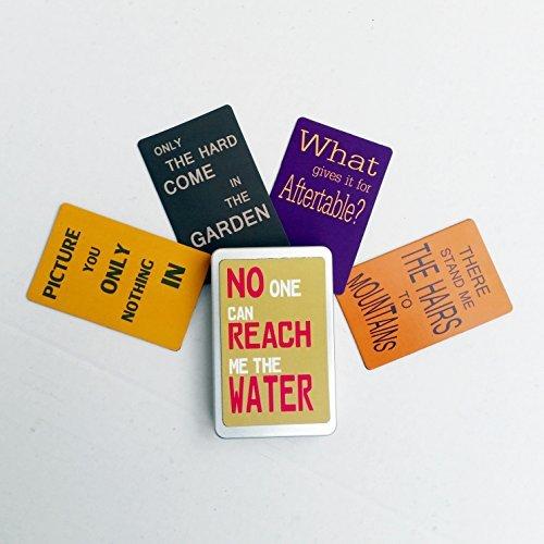 Geschenkdose mit 5 Magneten / Kühlschrankmagneten Nr2 - FREI WÄHLBAR (SIEHE BESCHREIBUNG) ODER WIE ABGEBILDET aus der Serie