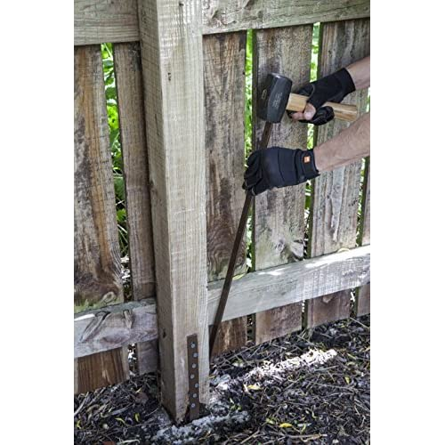 Durable Modeling Post Buddy Pack Of 8 Wood Fence Post Repair Stakes