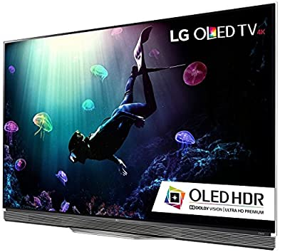 LG Electronics OLED65E6P Flat 65-Inch 4K Ultra HD Smart OLED TV (2016 Model) Kit with Microfiber Cloth