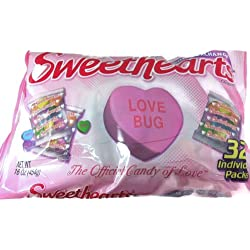 Sweethearts Conversation Hearts Classroom Exchange, 32 Individual Packs