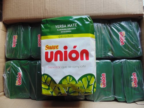 Union Yerba Mate Suave 2.2 Lbs/ 1 Kilo (10 Packs) by Union