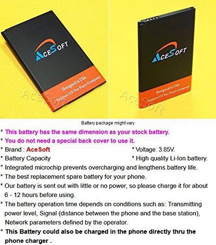 Long Lasting 2950mAh Rechargeable Li_ion Standard Battery for LG K20 V VS501 Verizon Android Phone - Fast Shipping