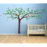 PopDecors - Colorful Super Big Tree Four Colors (Dark...