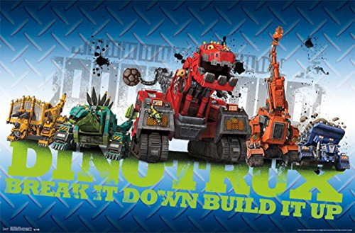 Dinotrux- Group Poster 34 x 22in