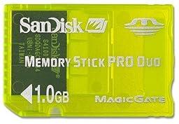 SanDisk SDMSG-1024 Pro Duo 1 GB Gaming Memory Stick